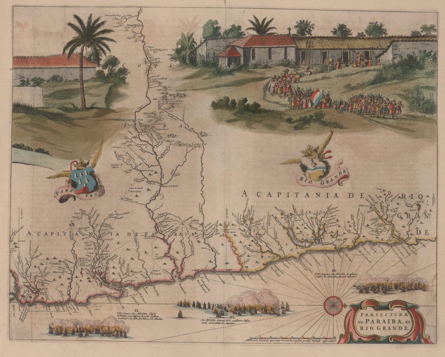 Praefecturae de Paraiba, et Rio Grande.