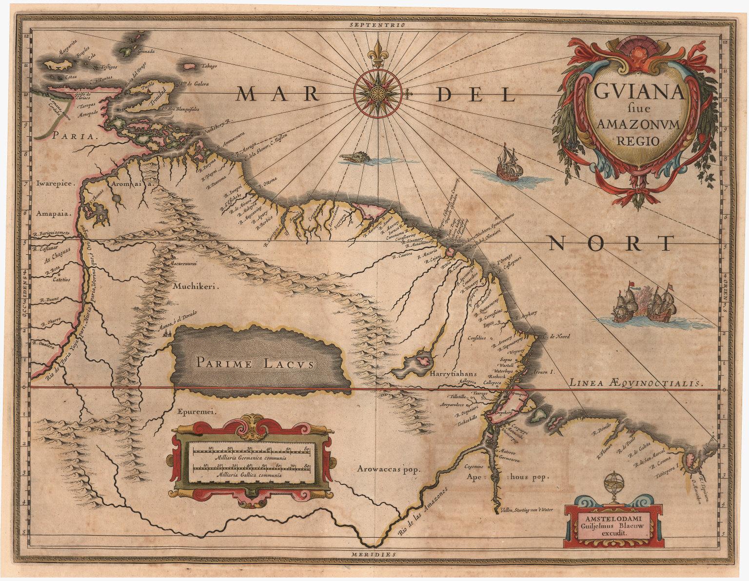 Guiana siue Amazonum Regio