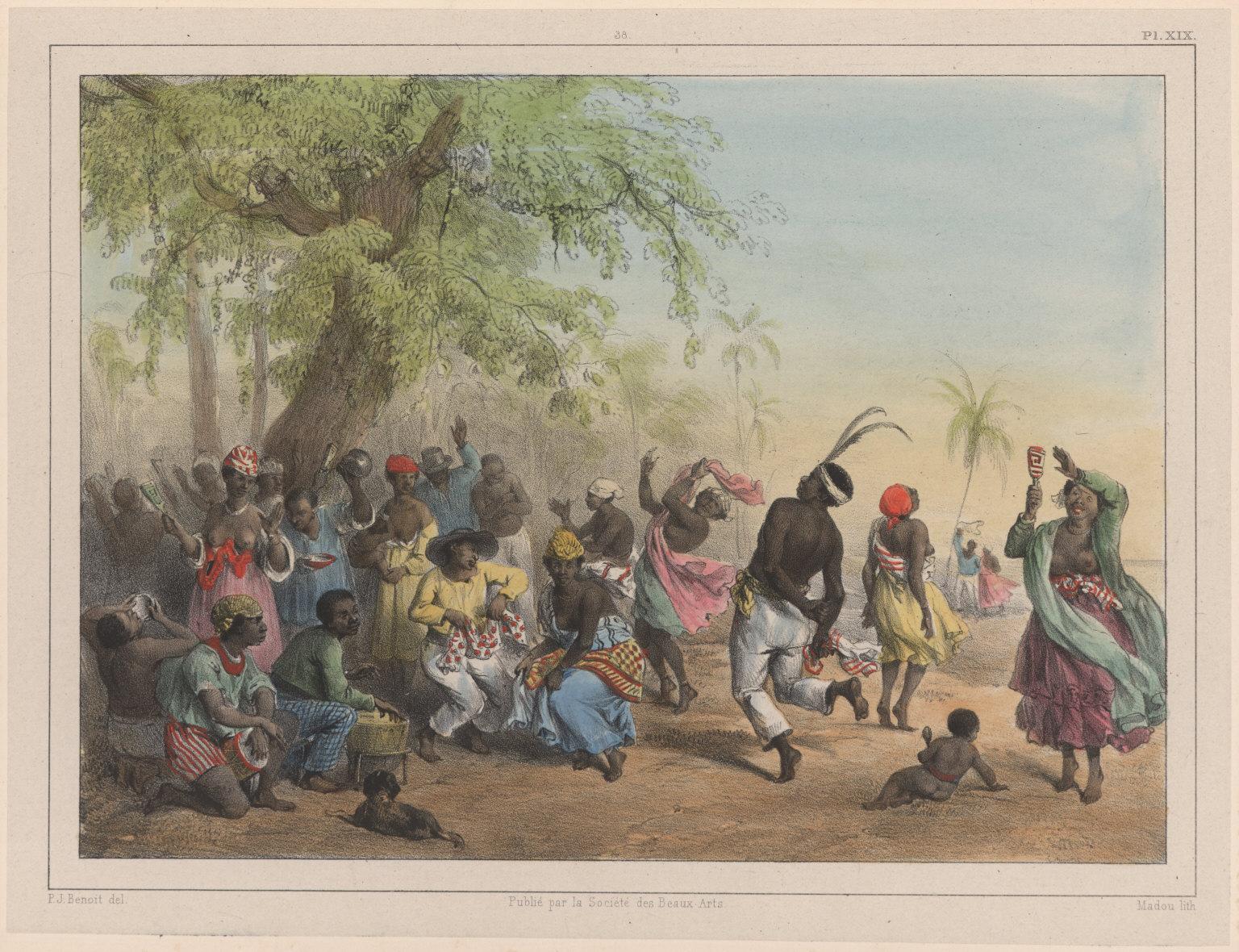 38. Le Dou, ou grande fête des esclaves.