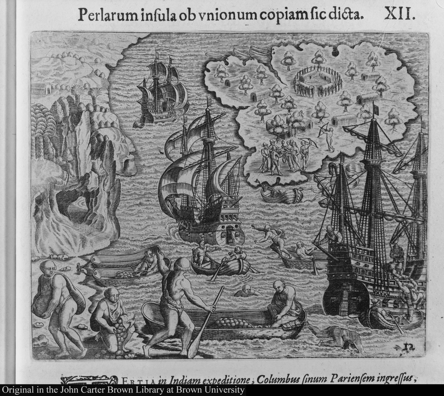 Perlarum insula ob unionum copiam sic dicta.