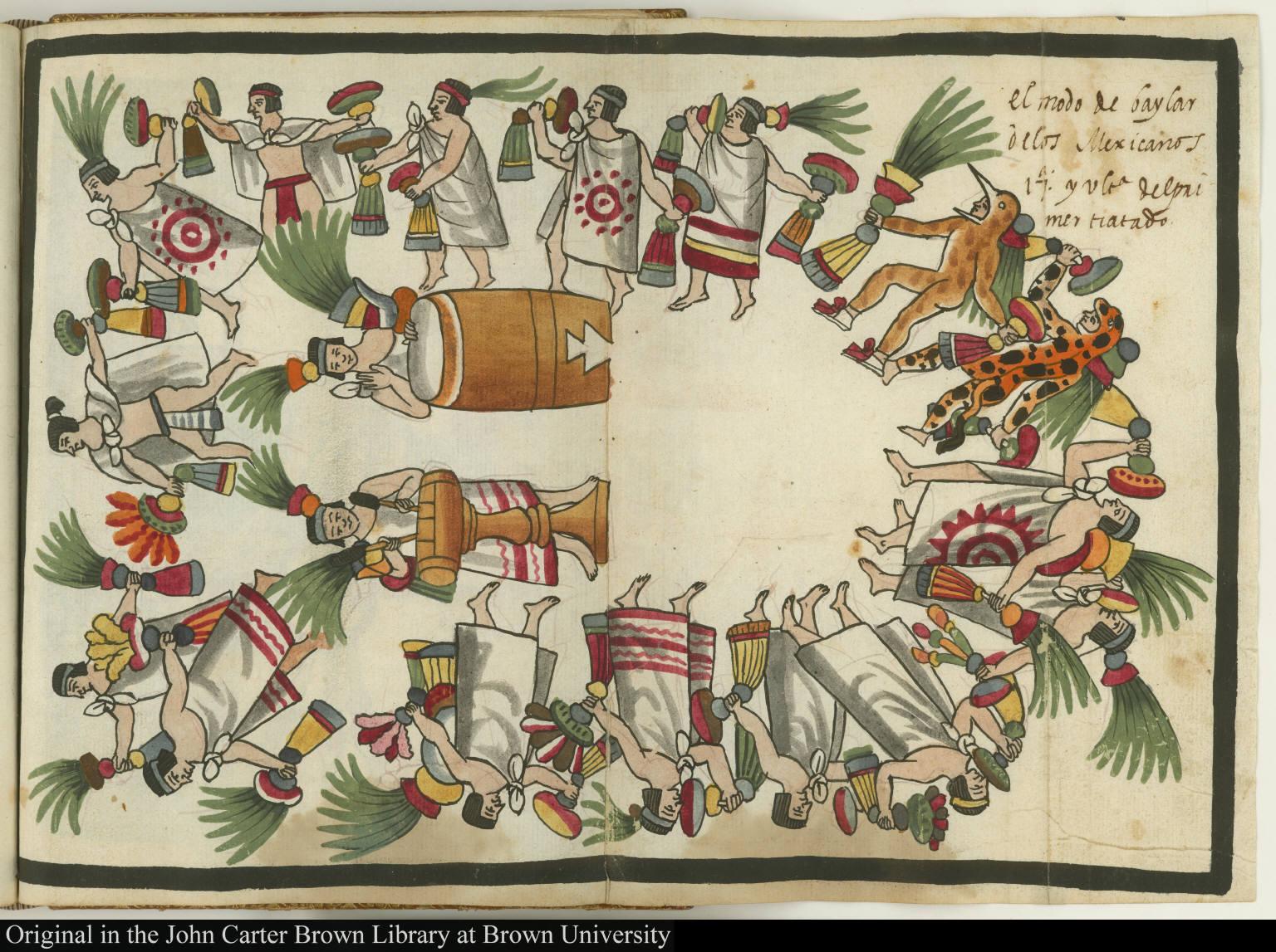 El modo de baylar de los Mexicanos. 17a y última del primer tratado.