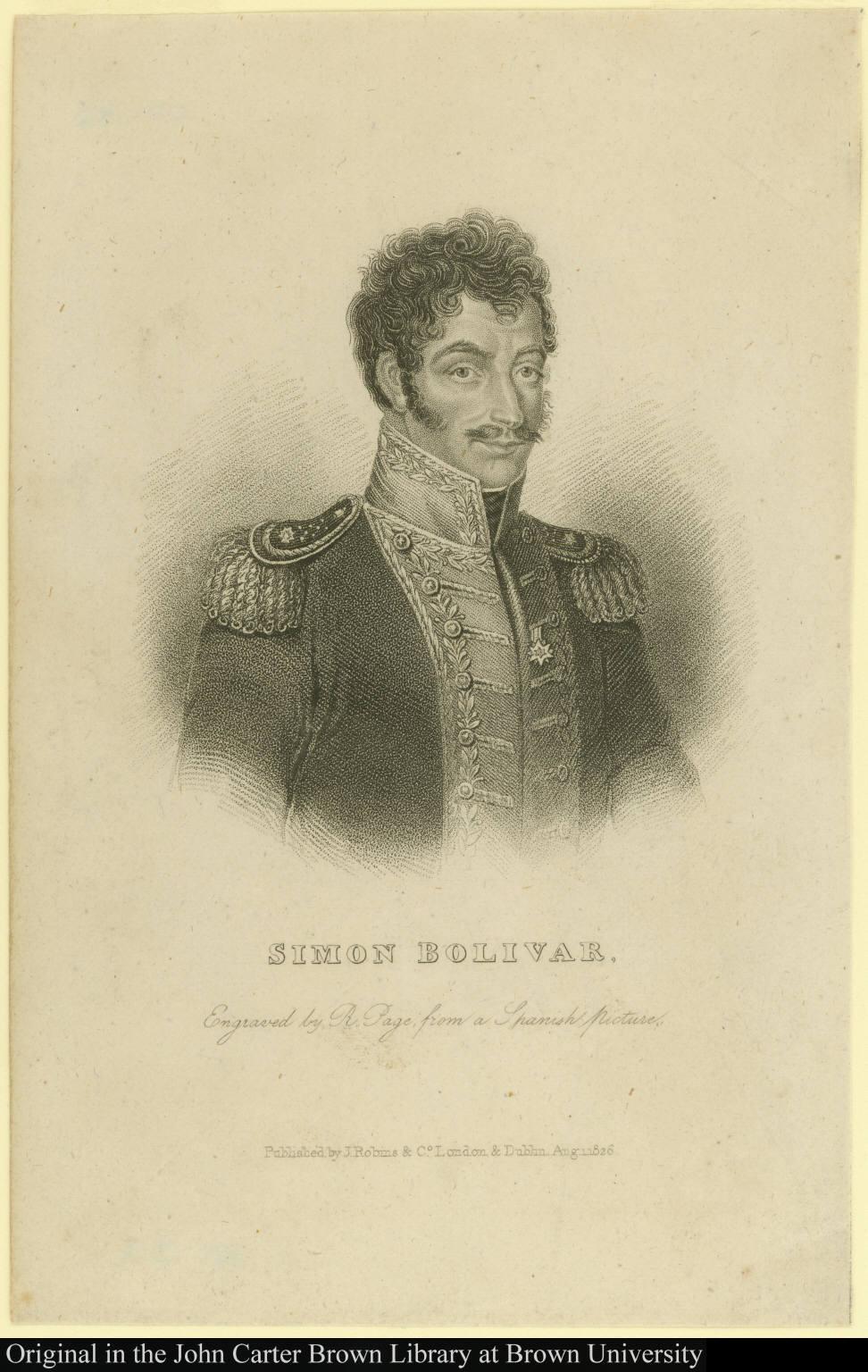 Simon Bolivar.