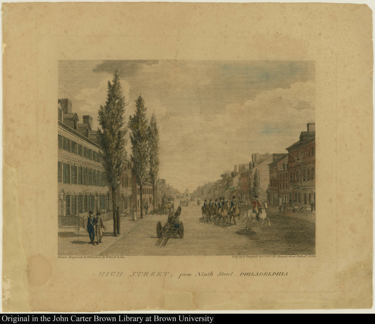 High Street, from Ninth Street, Philadelphia