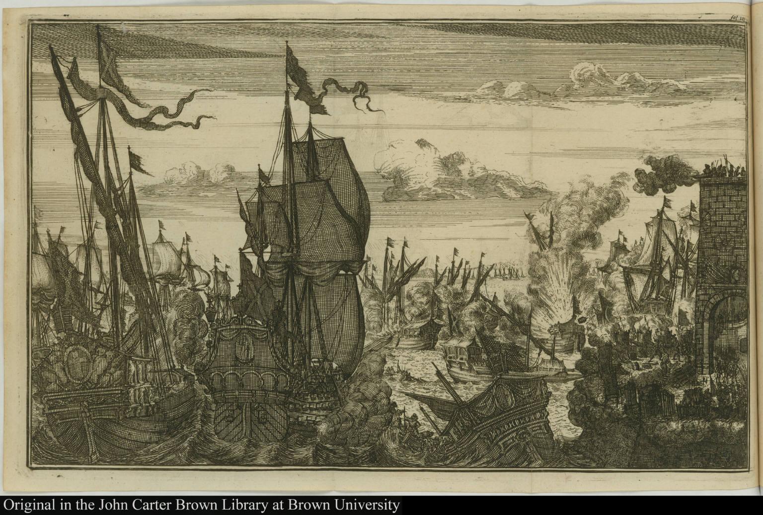[Brief van den Spaenschen Generael Don Alonzo del Campo Spinoce, aen Morgan Admirael van de Rovers.]
