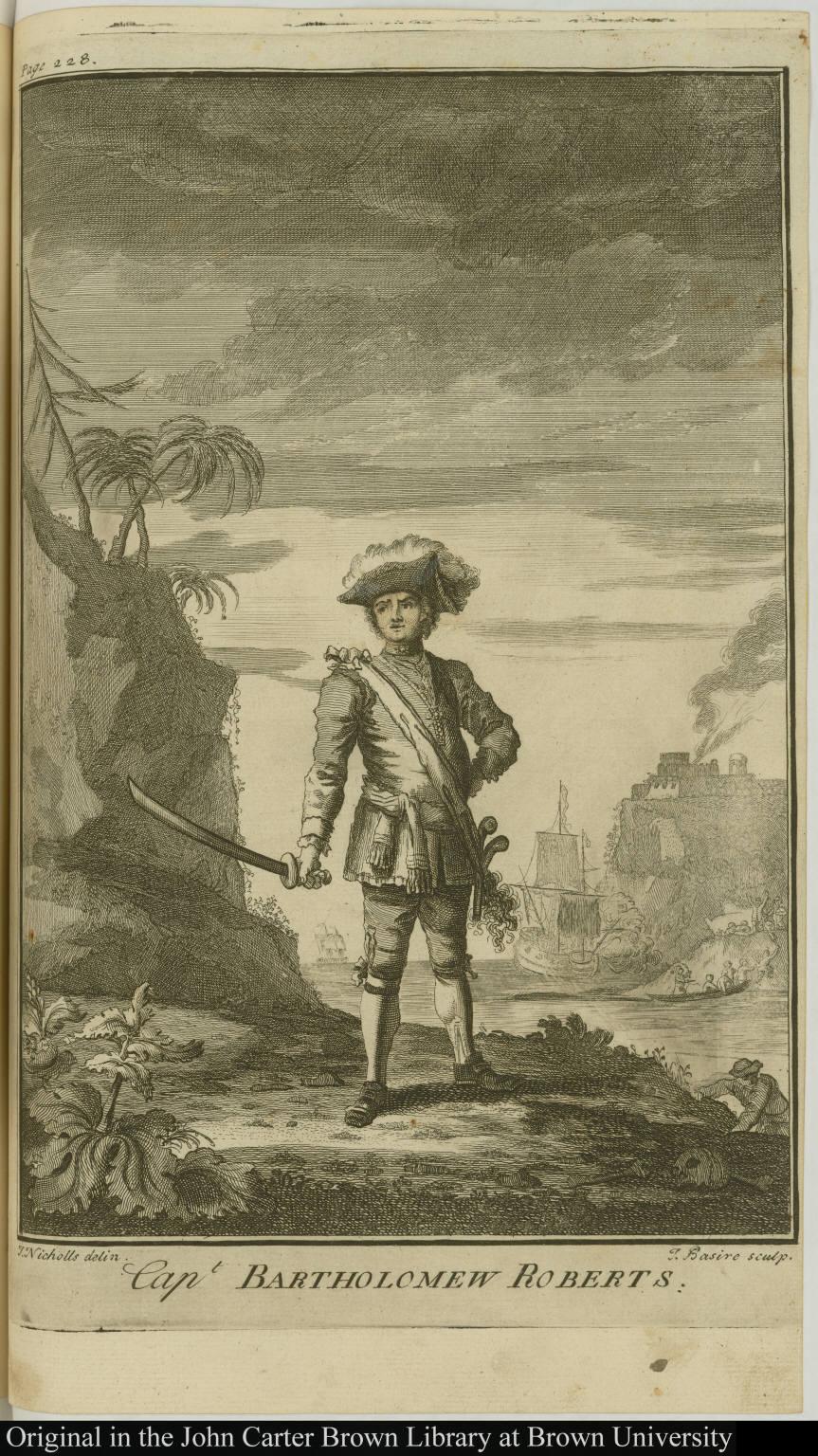 Capt. Bartholomew Roberts.