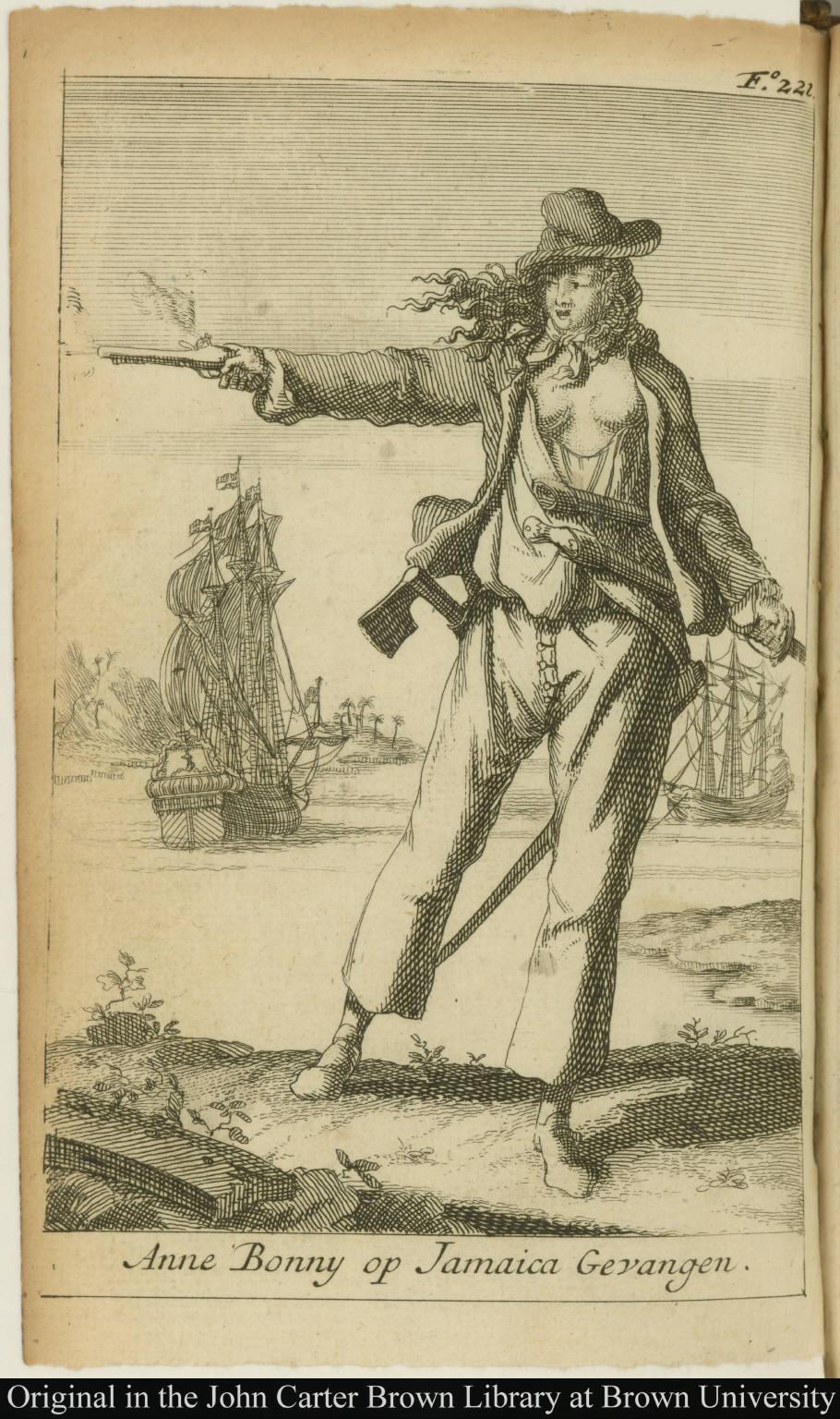 Anne Bonny op Jamaica Gevangen.