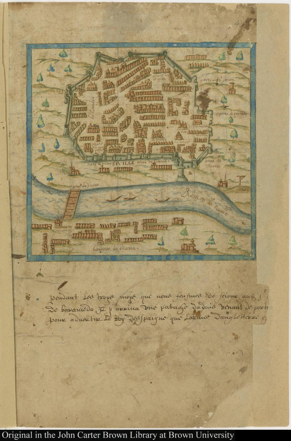 [Map of Seville, Spain]