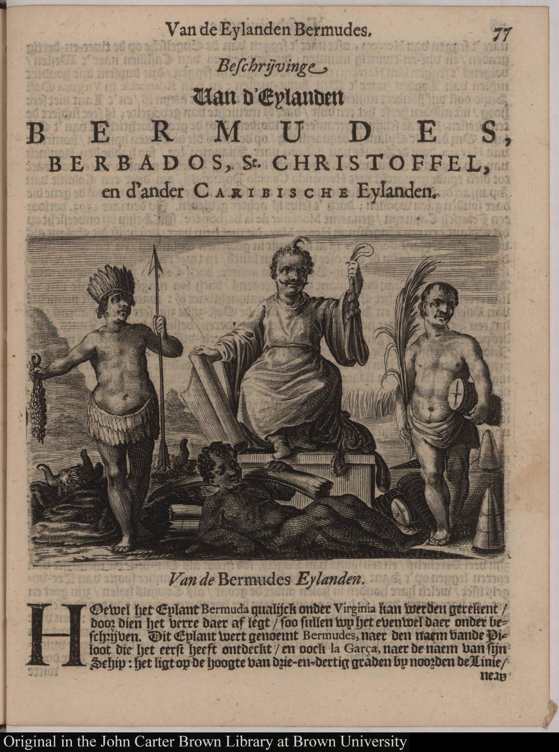 Van de Bermudes Eylanden.