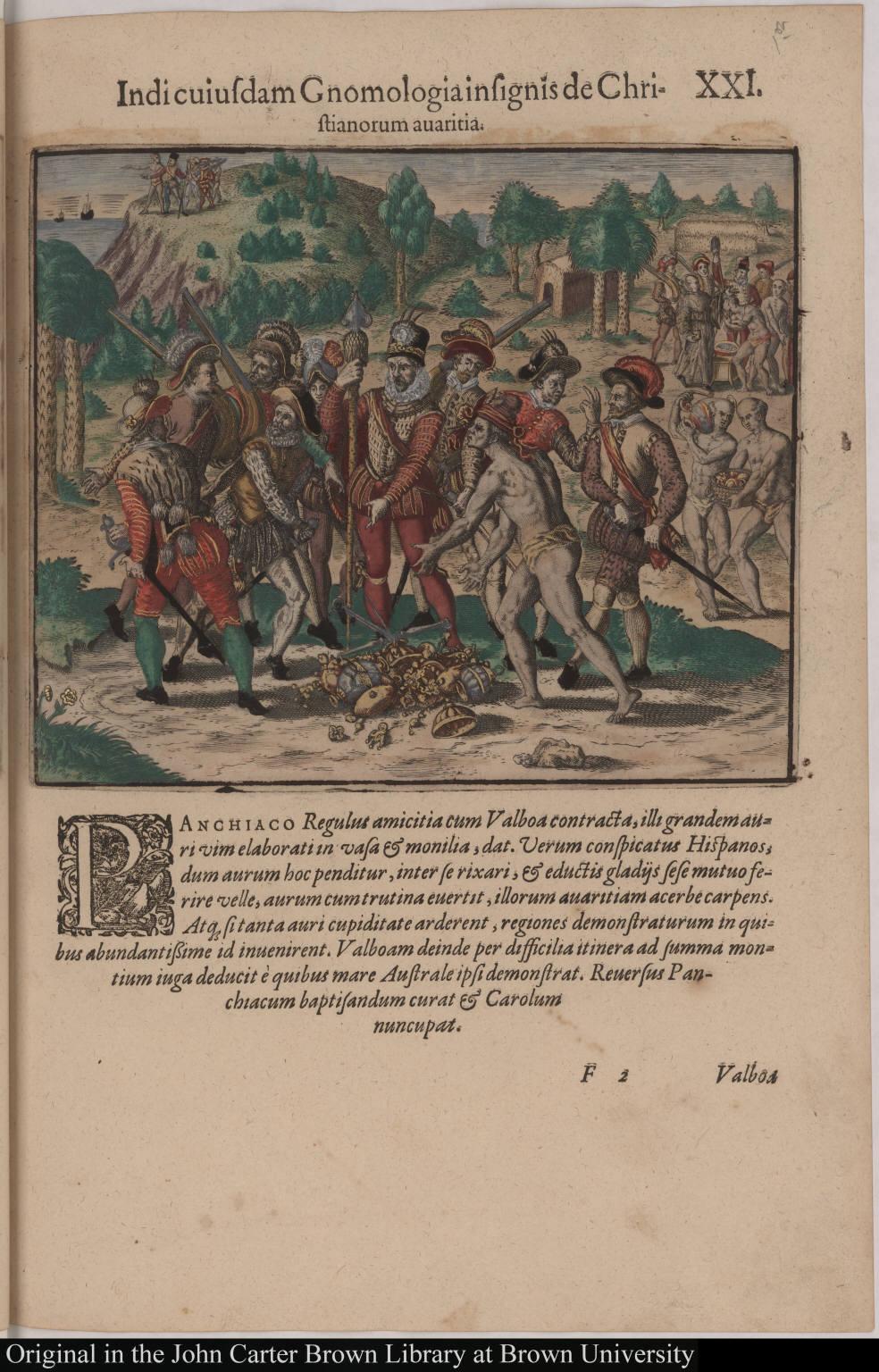 Indi cuiusdam Gnomologia insignis de Christianorum avaritia.