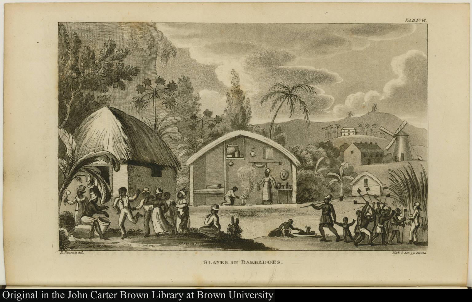 Slaves in Barbadoes.