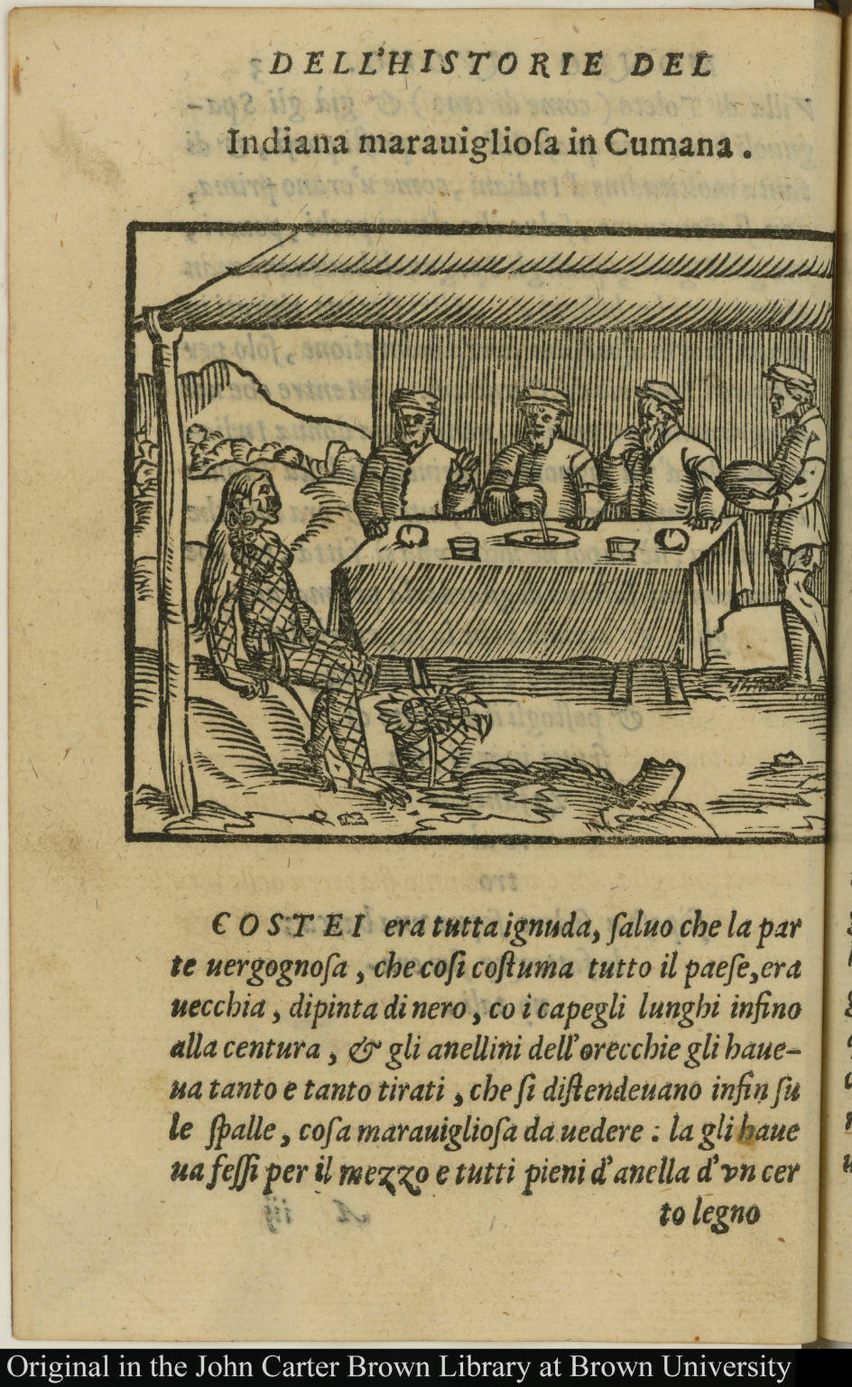 Indiana marauigliosa in Cumana - JCB Archive of Early American Images