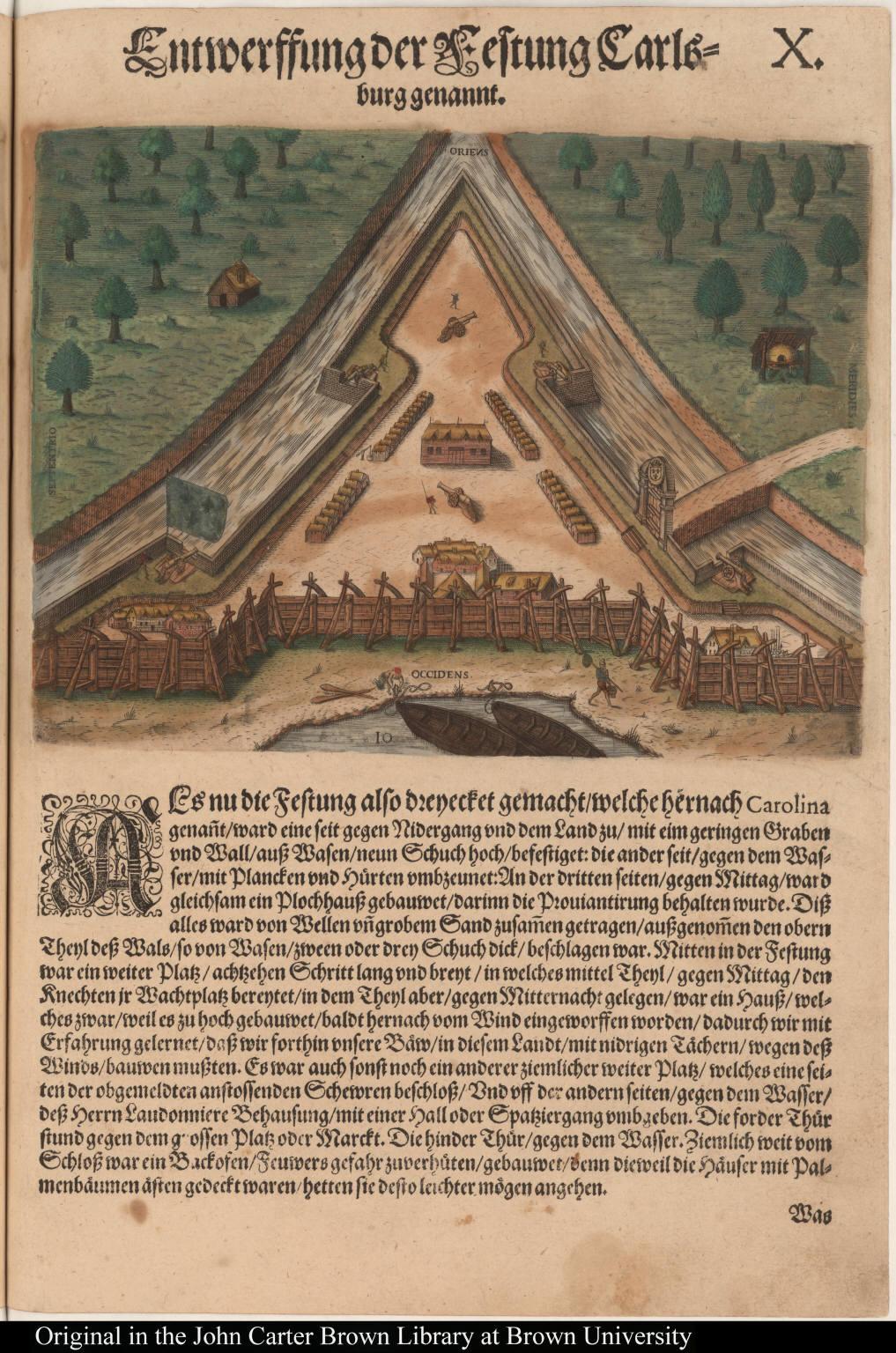 Entwerffung der Festung Carlsburg genannt.