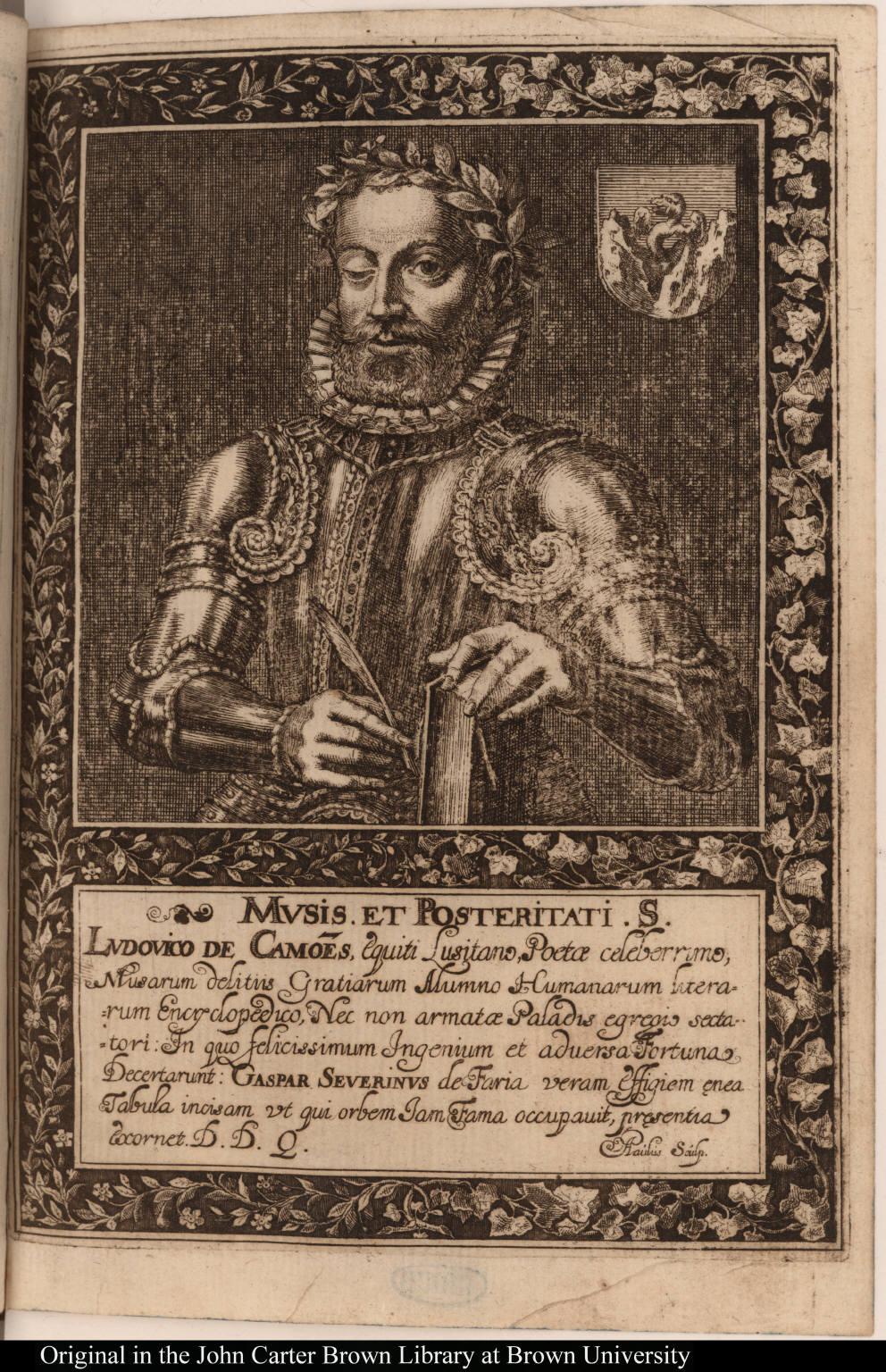 Mvsis. et Posteritati. S. Lvdovico de Camoes ...