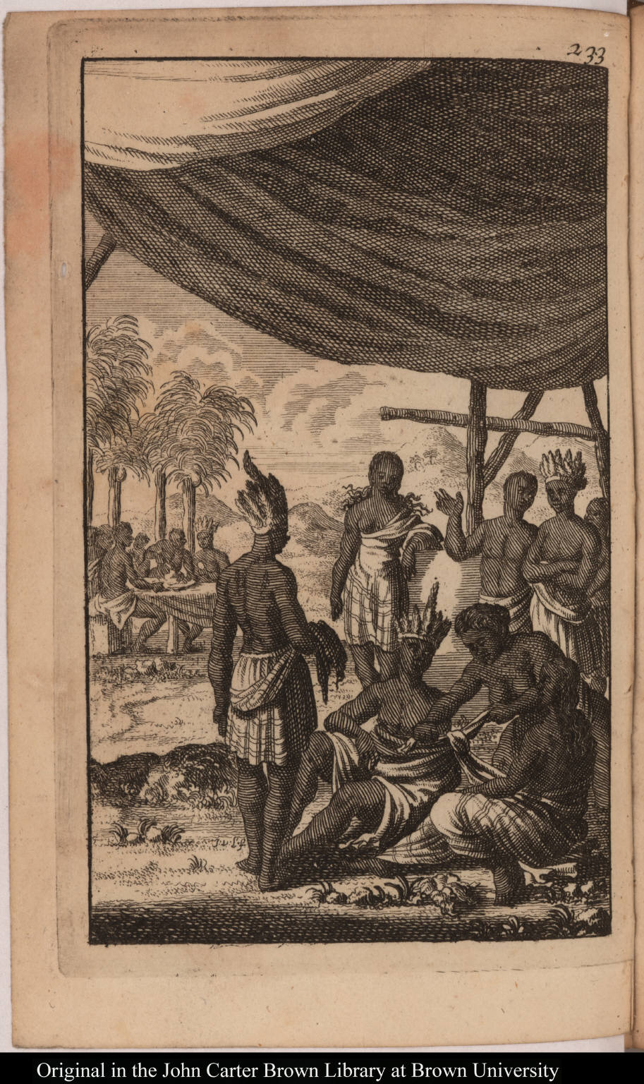 [Marriage customs of native Americans of Cuba]