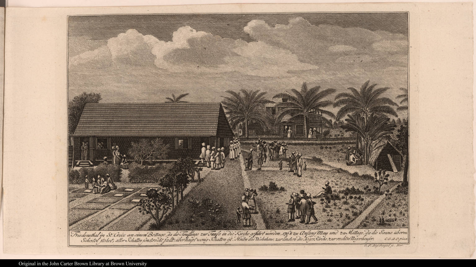 Friedensthal in St. Croix ...