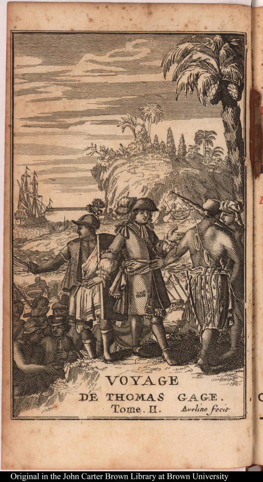 Voyage de Thomas Gage. Tome. II.