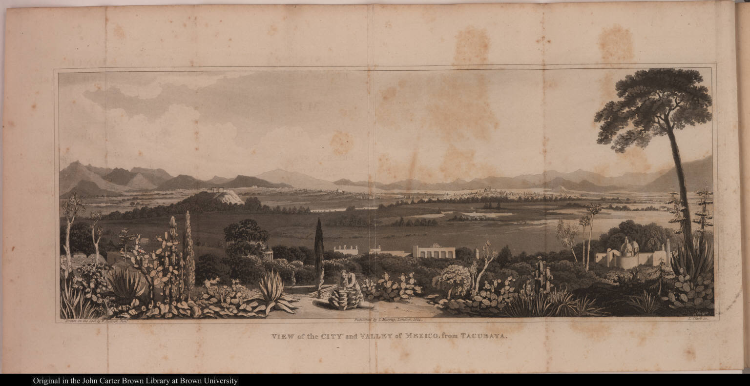 View of the City and Valley of Mexico, from Tacubaya.
