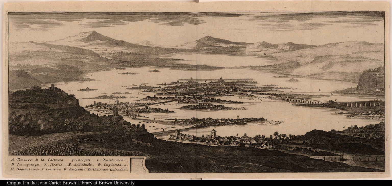 [Tenochtitlan or Mexico City and environs]
