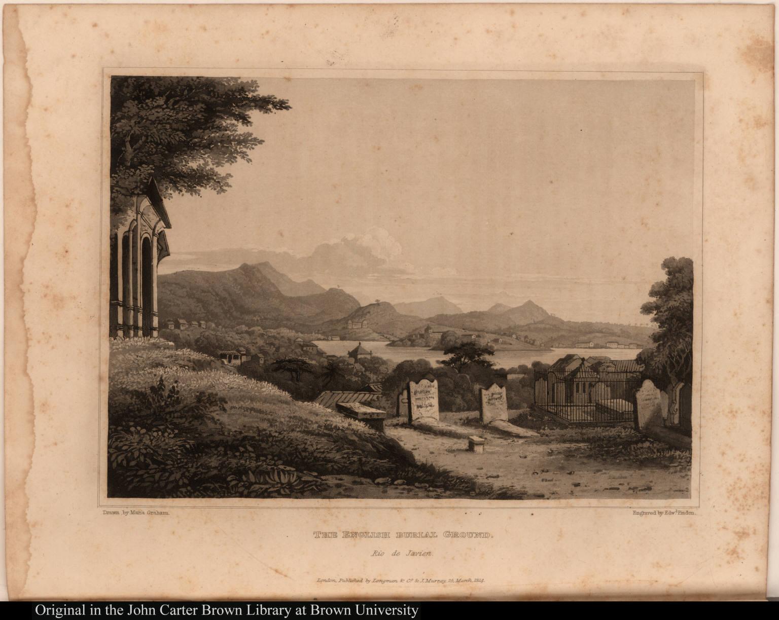 The English burial ground. Rio de Javien.