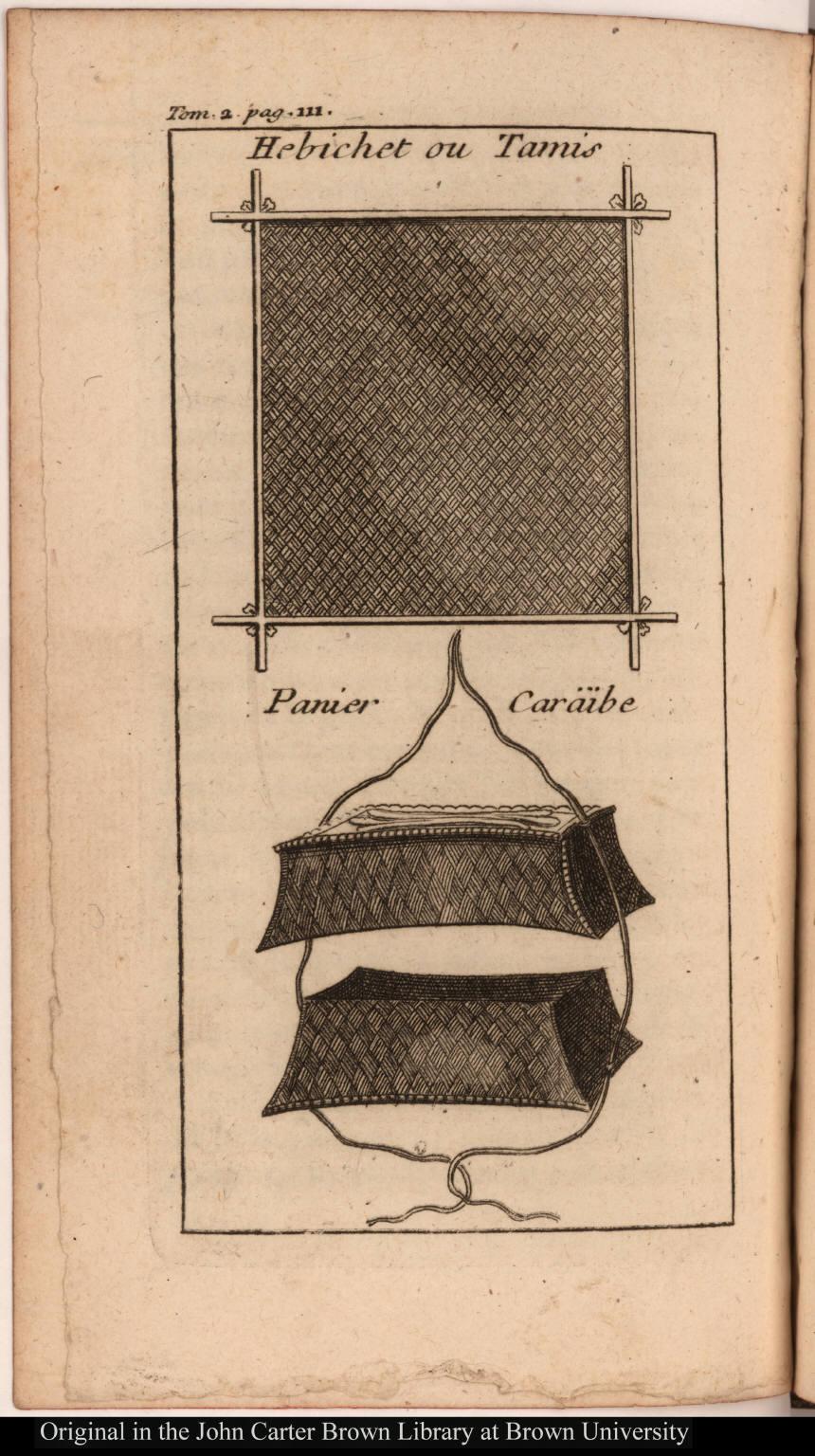 [top] Hebichet ou Tamis [bottom] Panier Caräibe