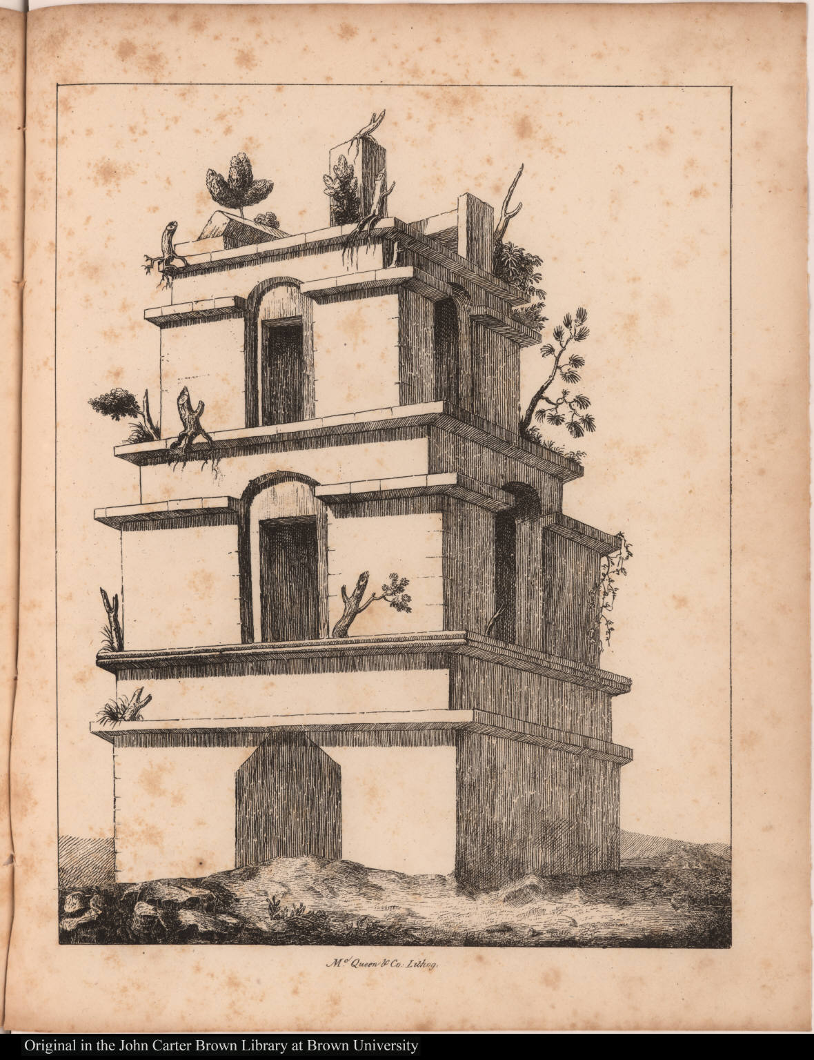 [Palace tower at Palenque]