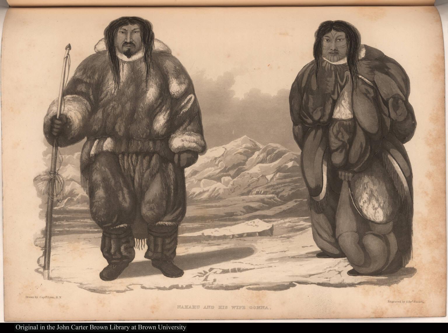 Nakahu and his Wife Oomna.
