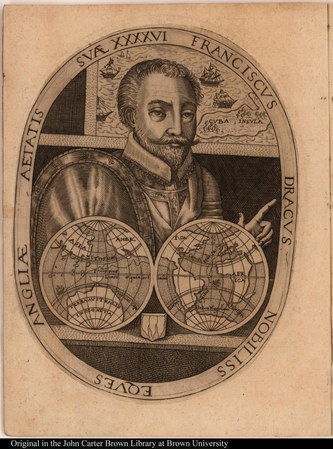Franciscus Dracus nobiliss eques Angliae aetatis suae XXXXVI