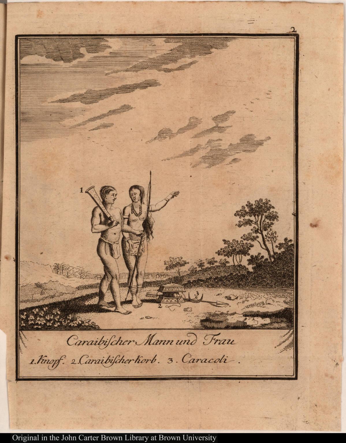 Caraibischer Mann und Frau