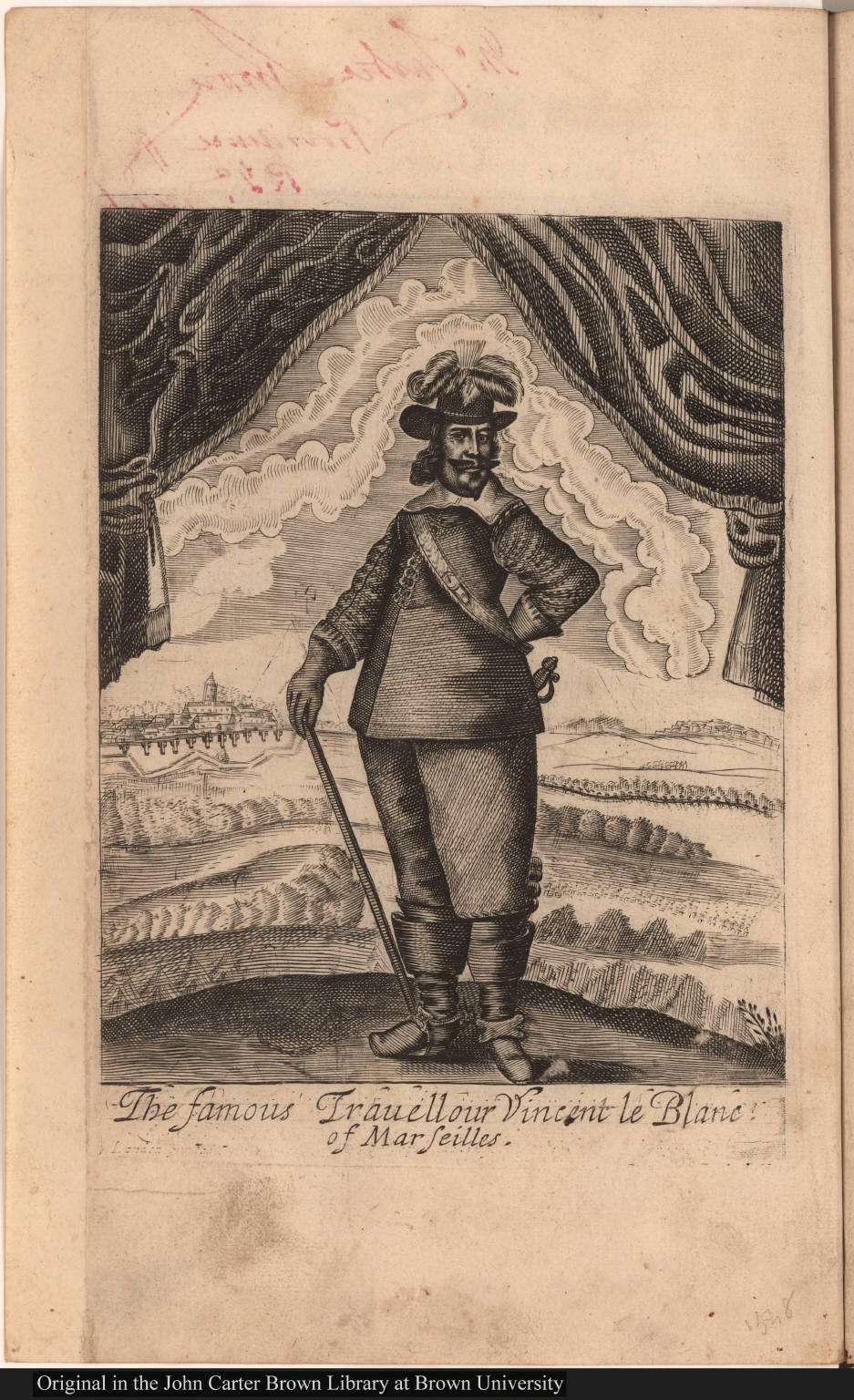 The famous Travellour Vincent le Blanc of Marseilles.