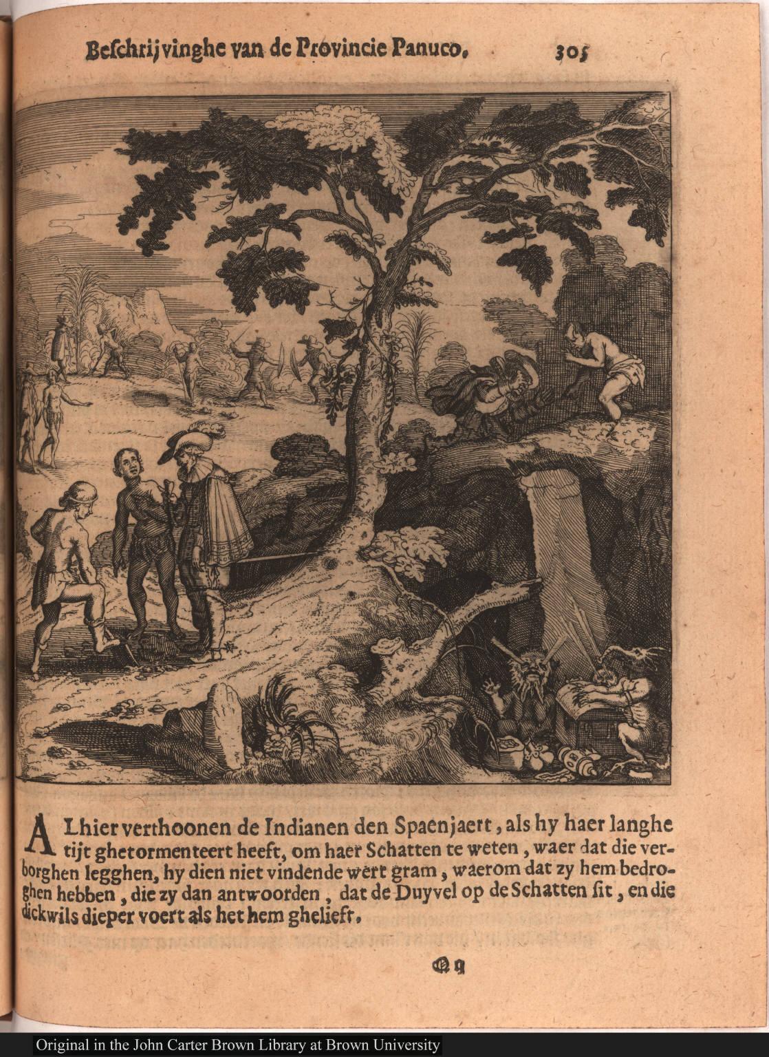 [Spanish discover cache of Aztec treasure]