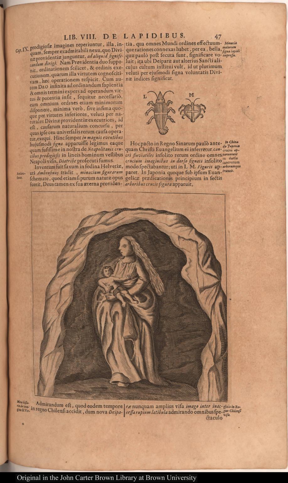 [Mira historia de imagine B. Virginis in Regno Chilense visa.]