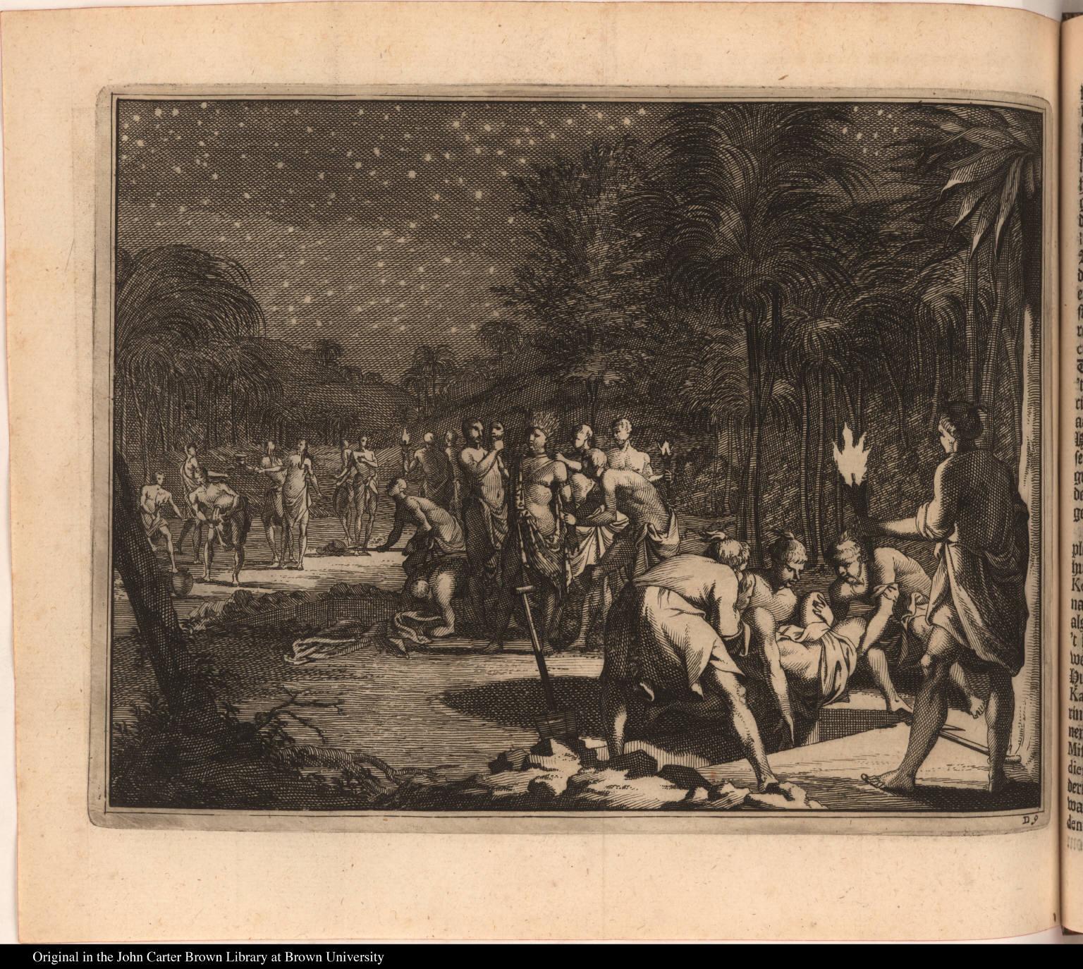 [Native American burial]