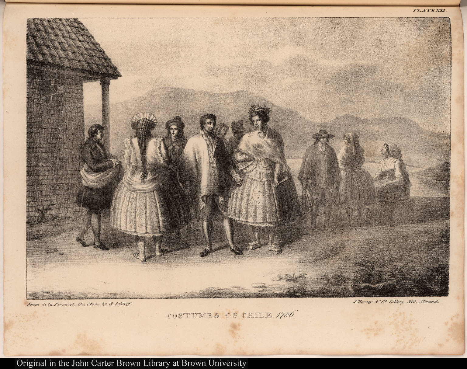 Costumes of Chile. 1786.