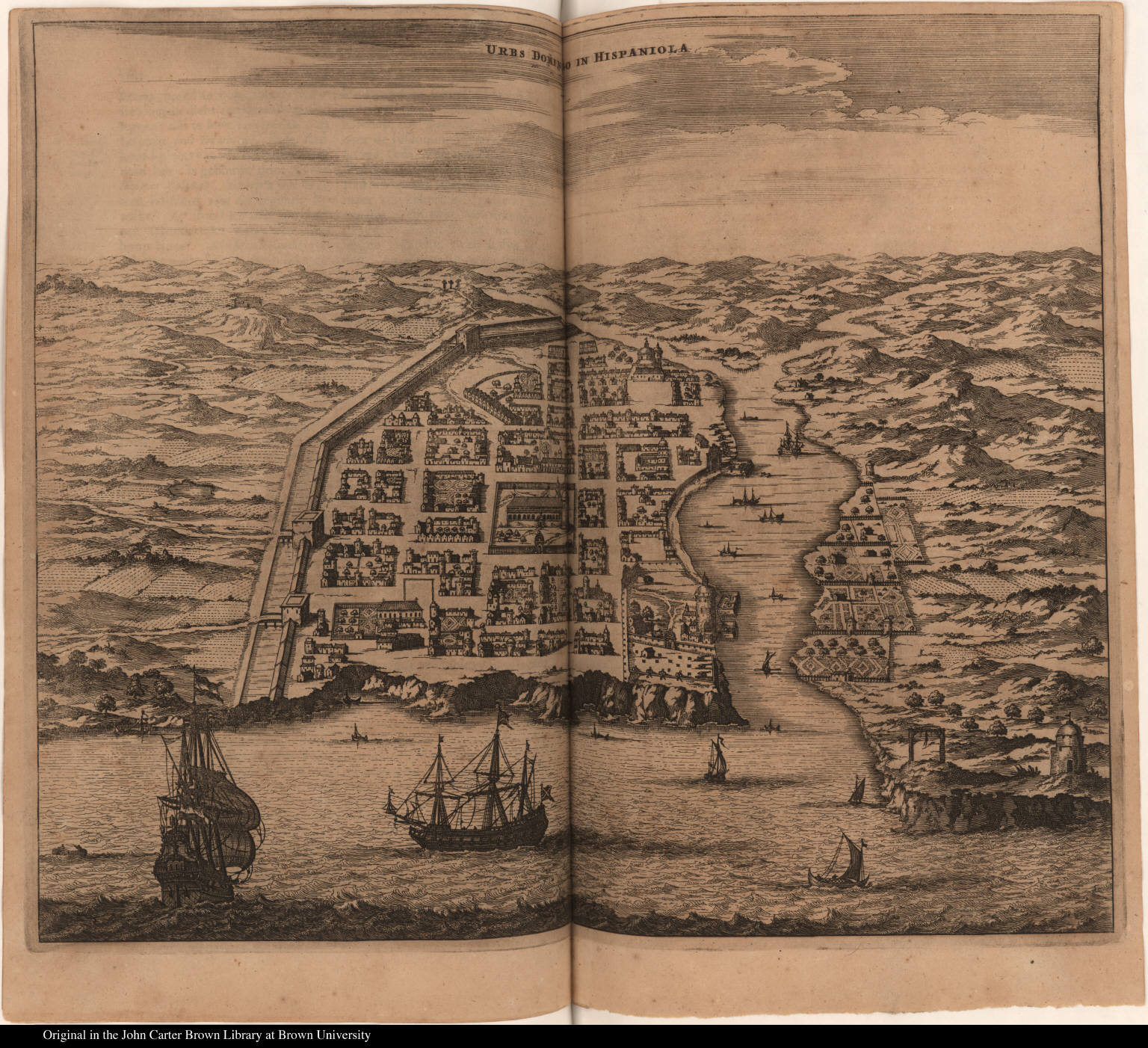 Urbs Domingo in Hispaniola
