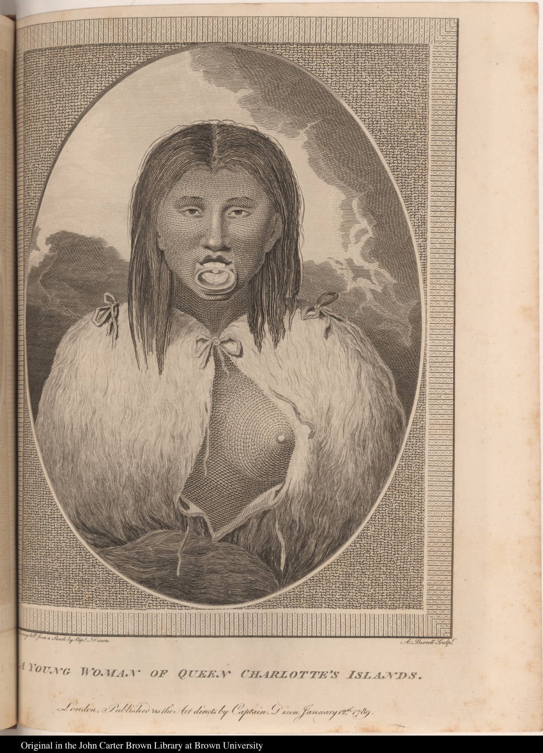 A Young Woman of Queen Charlotte's Islands
