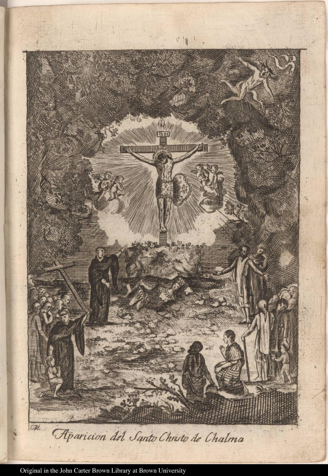 Aparicion del Santo Christo de Chalma