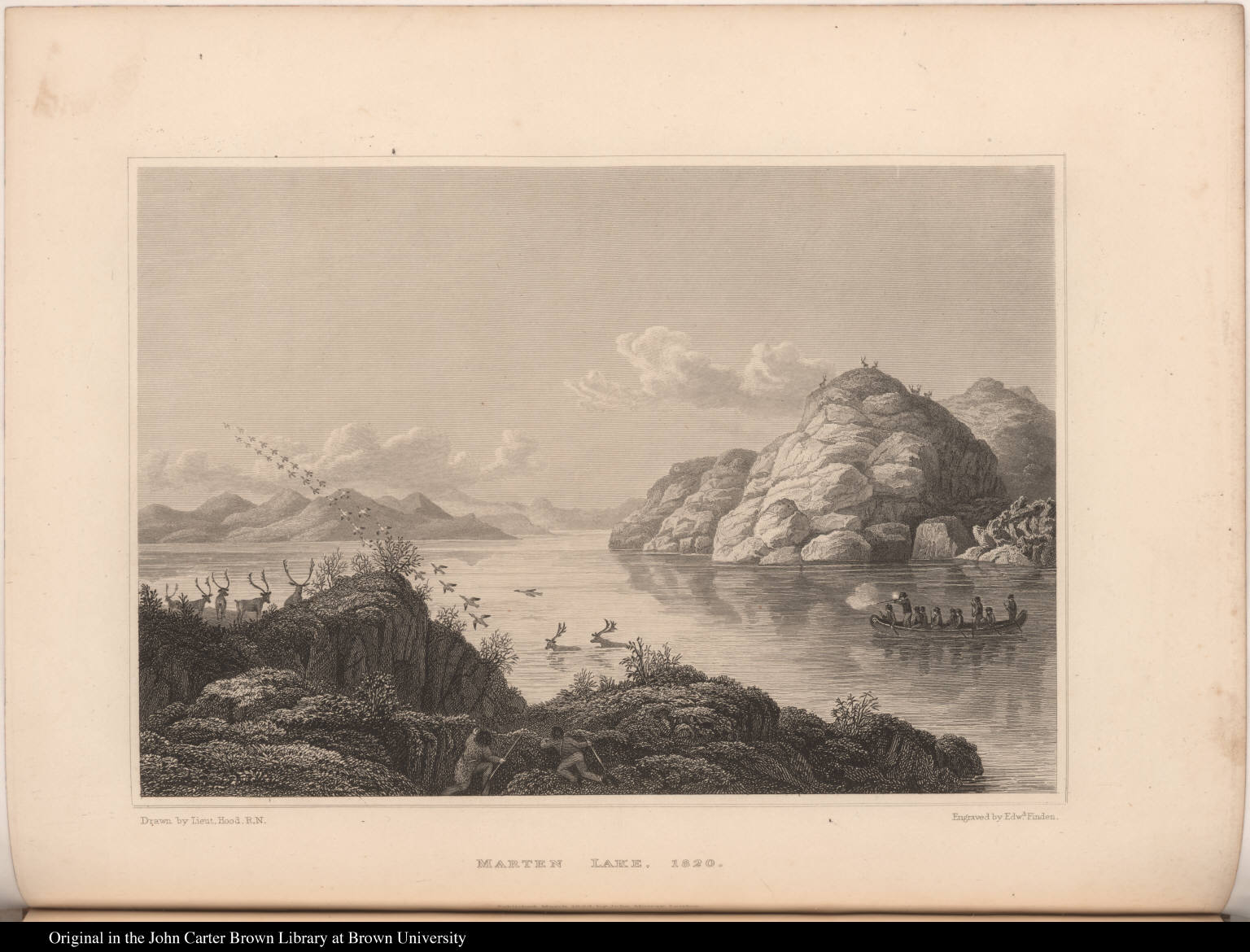 Marten Lake. 1820.