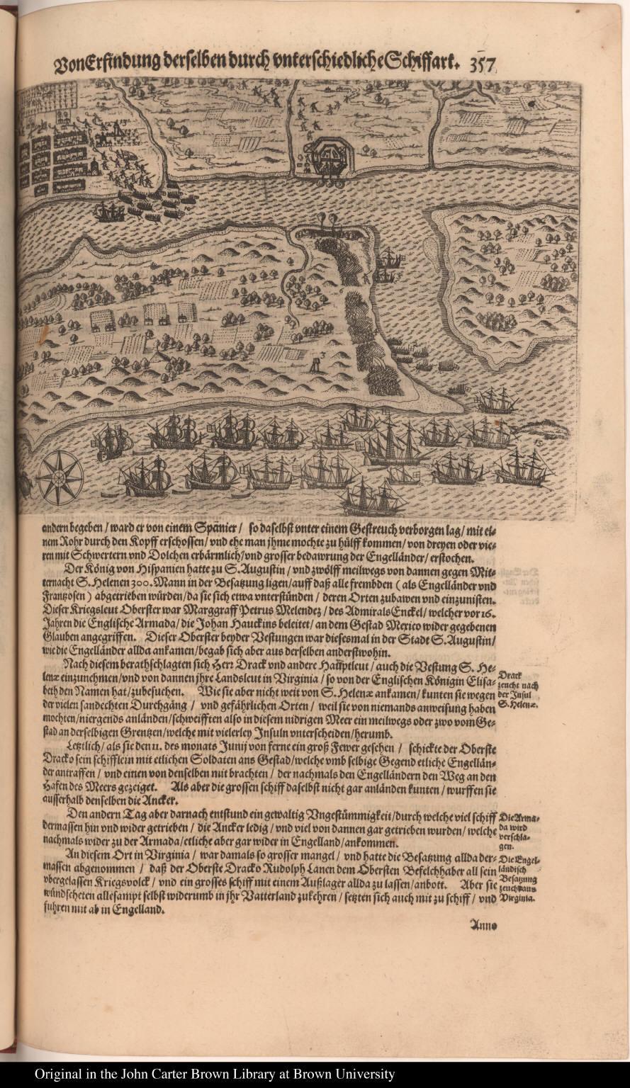 [English land in Saint Augustine]