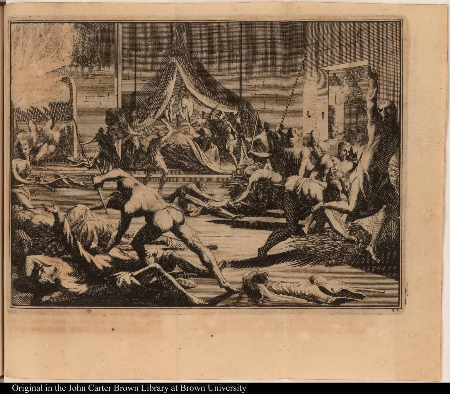 [Native Americans massacre Spanish]