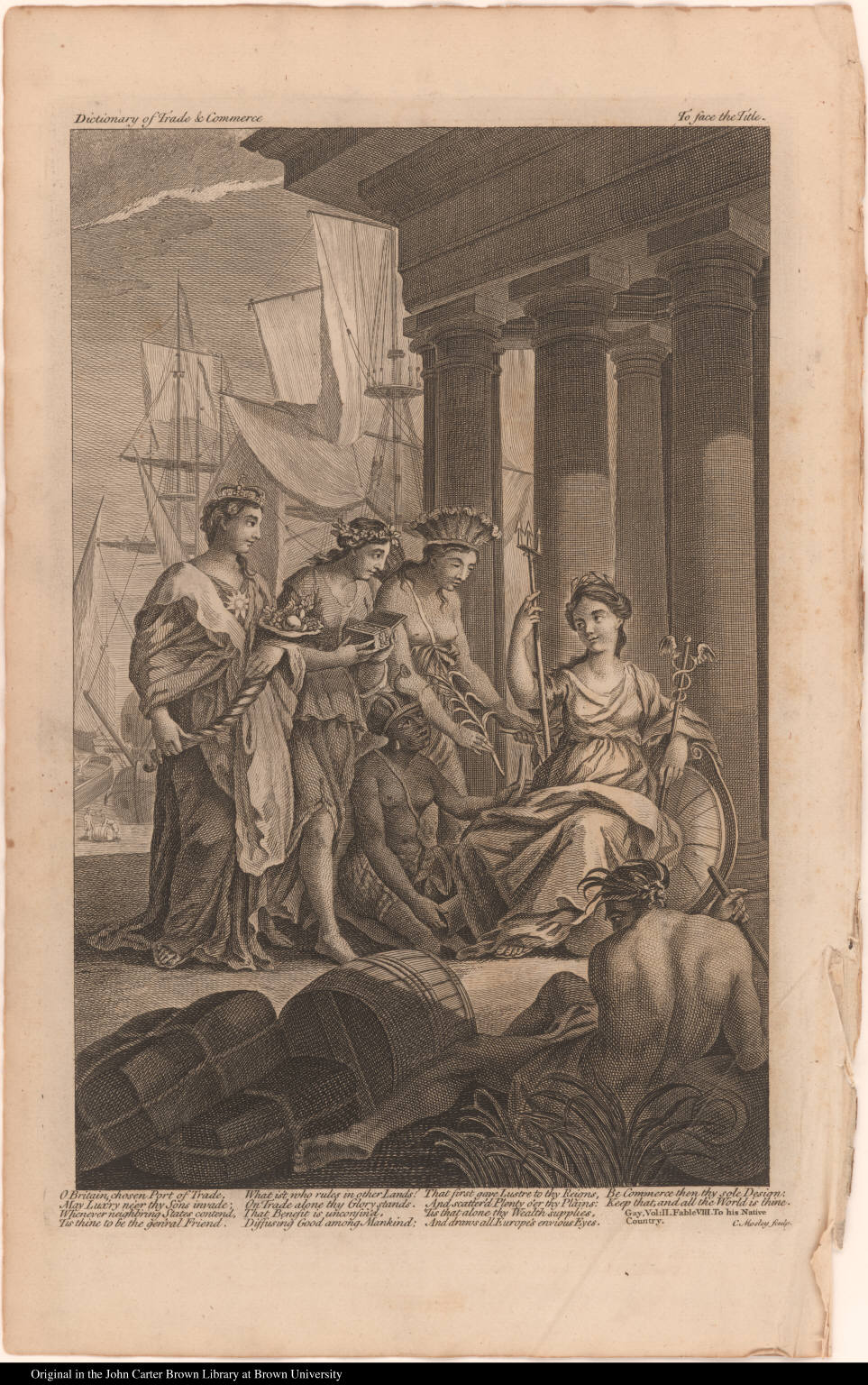 [Allegory of British commerce]