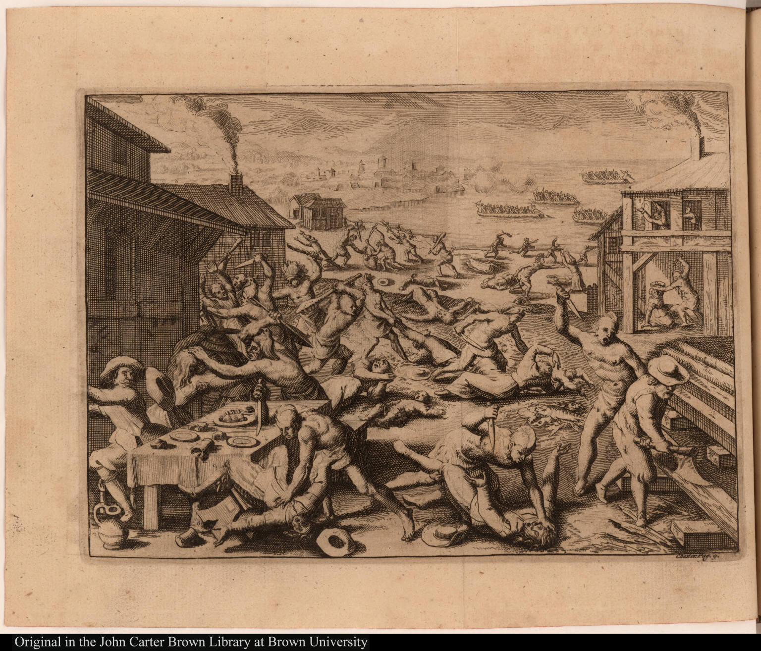 [Massacre at Jamestown, Virginia, 1622]