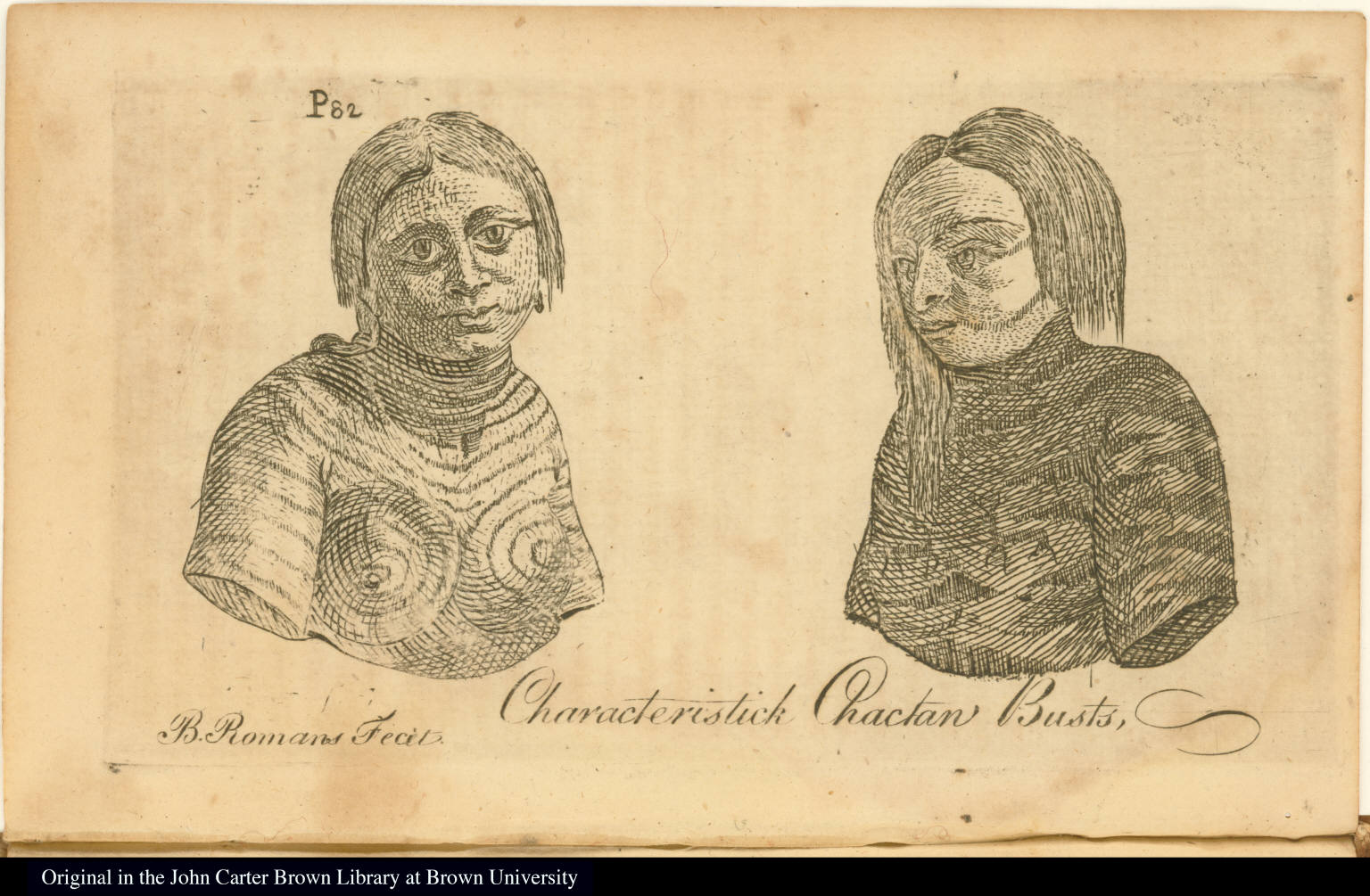 Characteristick Chactaw Busts