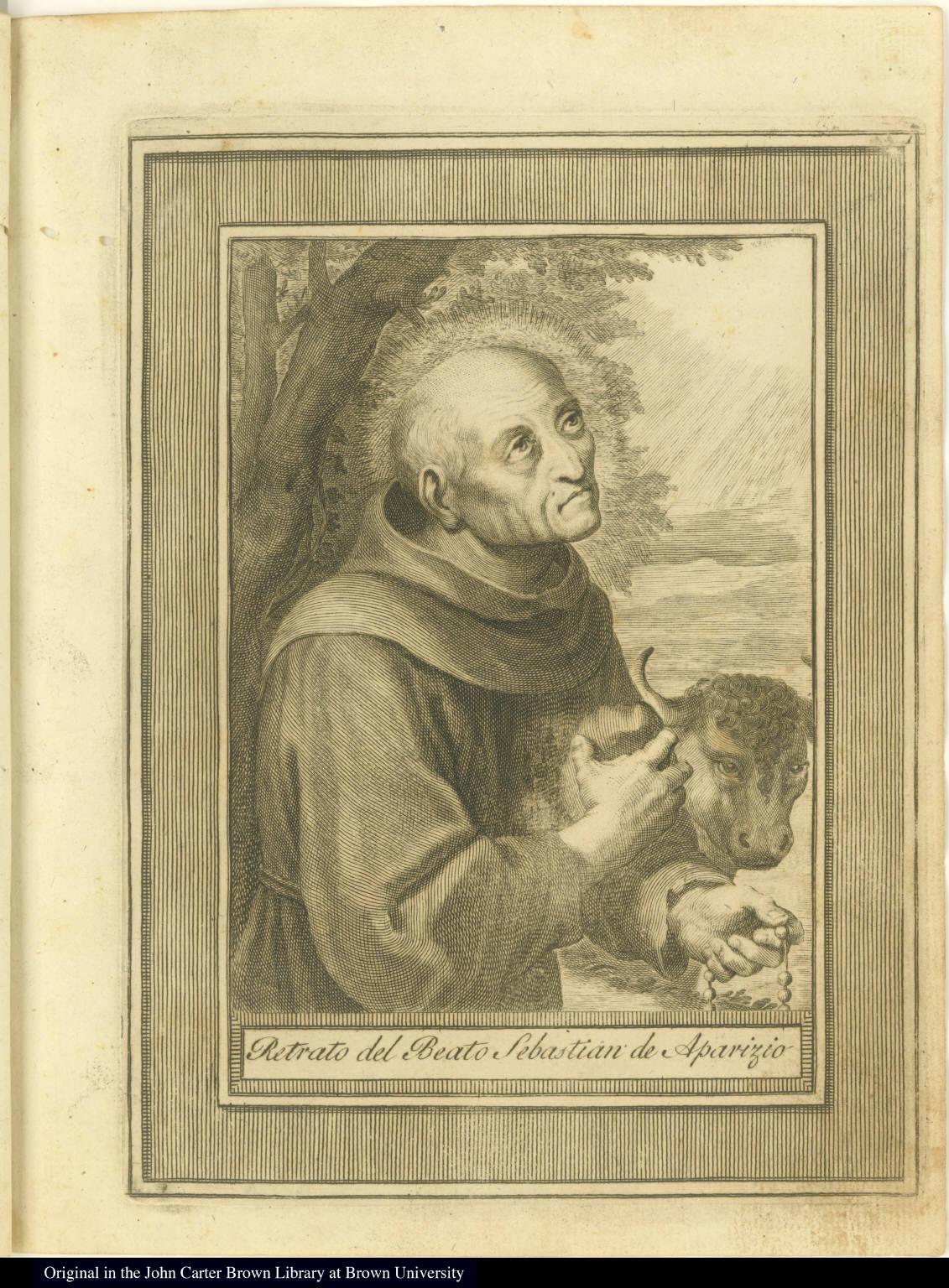 Retrato del Beato Sebastian de Aparizio