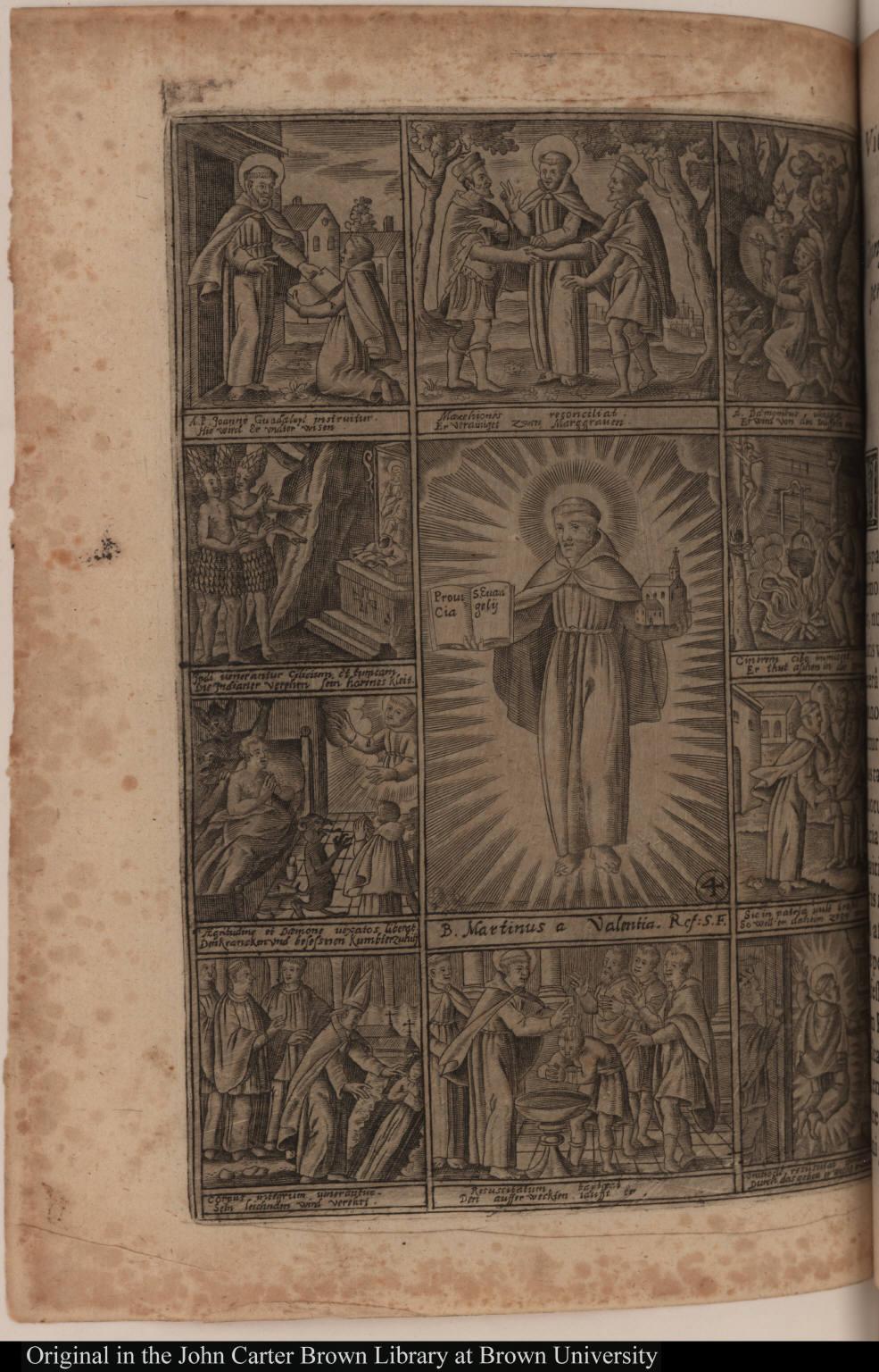 [Vita B. Patris Martini de Valentia Primi Mexicanarum Gentium Apostoli.]