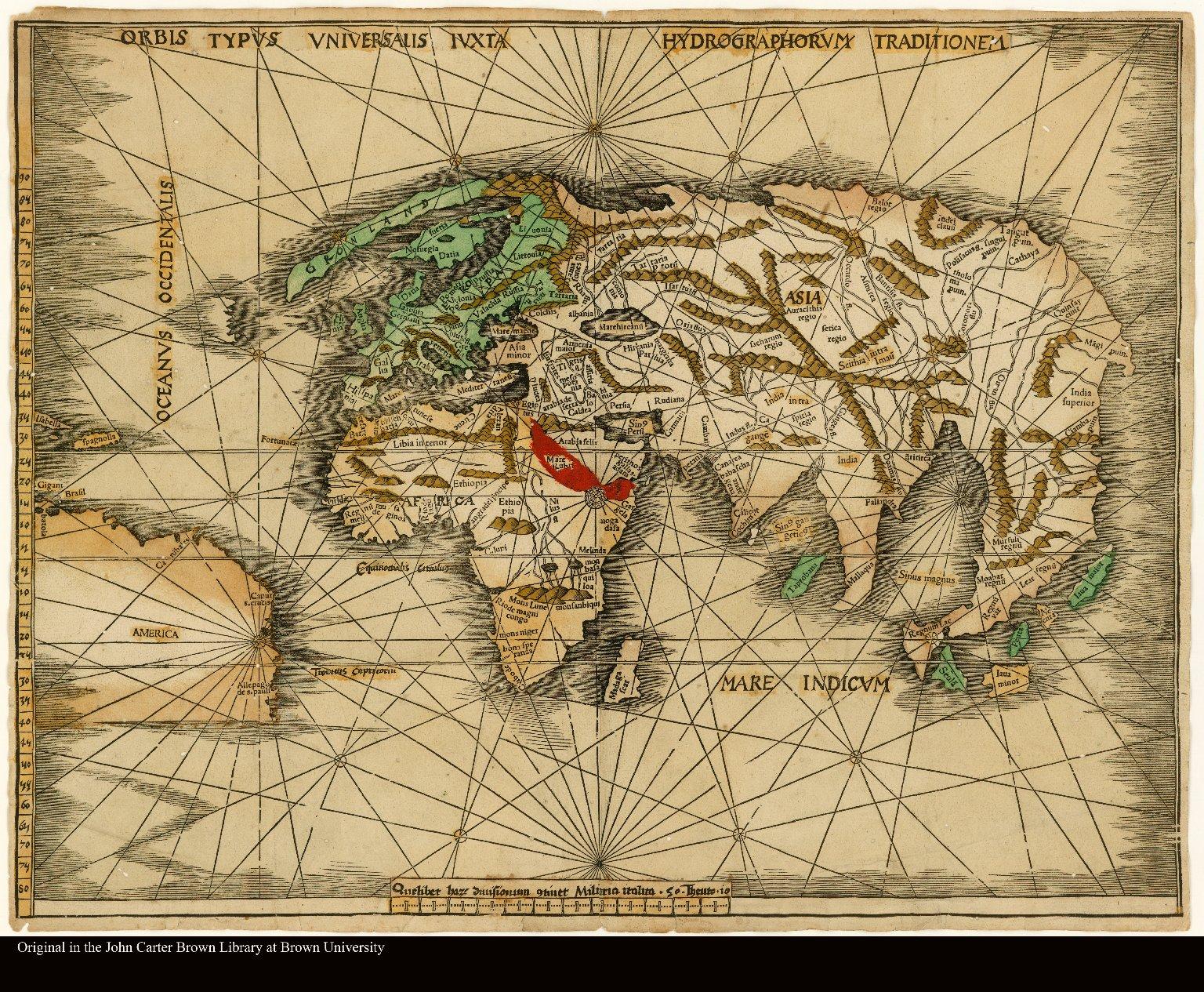 Orbis Typus Universalis Iuxta Hydrographorum Traditionem