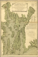 A Topographical Chart of the Bay of Narragansett in the Province of New England...