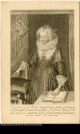 The portaiture of the illustreous Princesse Frances Duchess of Richmond and Lenox daugter [sic] of Thomas Ld. Howard of Bindon ...
