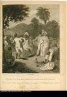 A Negro Festival drawn from Nature in the Island of St. Vincent.