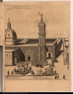 Diseño de la fachada del conuento de nuestra Sa. del Rosario de Predicadores de Lima