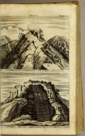 [top] Sinischer Drachen = und Tiger Feltz [bottom] Das Sibler Bergwerct Potosi in Peru